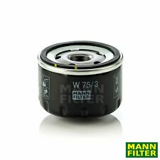 Filtro de aceite Opel Mann-Filter w75/3