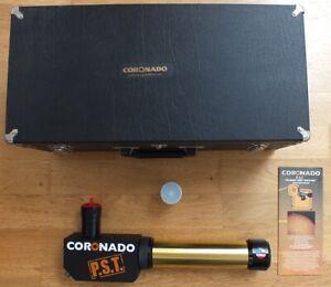 Coronado PST Personal Solar Telescope with genuine Coronado case