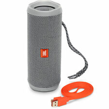 JBL Flip 4-GRAY Wireless Portable Stereo Bluetooth Speaker with Micro-USB Cable