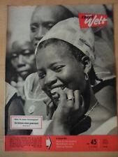 FREIE WELT 45 3.11. 1960 Guinea Schach Japan Wunderwerk in der Steppe