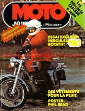 MOTO JOURNAL  196 HERCULES Wankel 2000 SMAC ROCVALE 50 6 RC Jupiter 1974