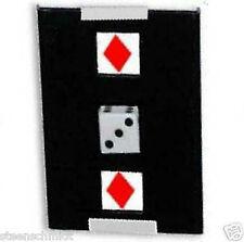 TRICKS CO JAPAN Dice Through Card Close up EXAMINABLE Magic Trick COLLECTOR RARE