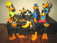 "7 RARE HTF WARNER BROTHERS DAFFY DUCK COLLECTABLE FIGURES , "" SOLD AS IS """