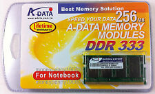A-Data 256Mb Notebook high quality Memory - DDR 333 - factory sealed