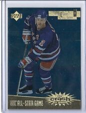 1996-97 UPPER DECK BRIAN LEETCH UD ALL STAR YOU CRASH THE GAME GOLD