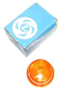 Leyland / Hella Flush Fitting Round Amber Indicator Turn Flasher Lamp ZA1014
