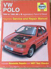 Haynes Manual De Reparación VW Polo Hatchback Gasolina & Diesel (94 - 99) M a S