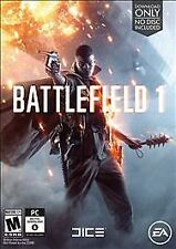 Battlefield 1 Digital Download (PC, 2016) NEW & SEALED -Fast free Shipping!