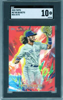 """2020 Topps Inception Red #57 """"Bo Bichette"""" RC @@LOOK@@ SGC 10  SSP #19/75 Hot RC"""