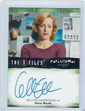 X Files UFOs & Aliens Autograph Card A-GA Gillian Anderson as Dana Scully