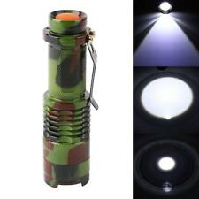 CREE Q5 2000LM LED Taschenlampe 3 Modus Fokus Zoomable Taschenlampe Licht Lampes