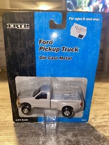 1/64th Scale Ford F-350 Dully Pickup Truck Ertl Gray