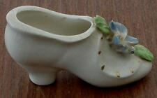 Vintage Used Porcelain Ladies Shoe Figurine, GD COND, CUTE AND DECORATIVE