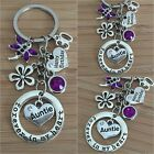 Personalised BIRTHDAY Keepsake Gift keyring - Friend,Daughter,Mum,Nan,Sister