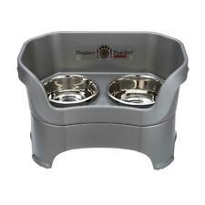 New listing Neater Feeder Deluxe Dog Bowl Feeder (Medium Dog) Gunmetal Grey