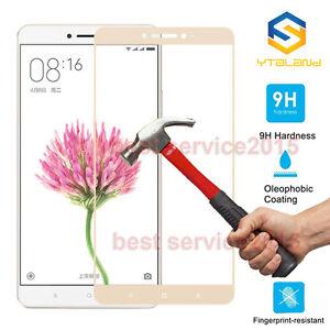 9H Full Covered Premium Tempered Film Glass Screen Protector For Xiaomi Mi Max 2