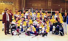 Ice Hockey memorabilia Very Rare Photograph Of Dumfries Border Vikings 1995/96