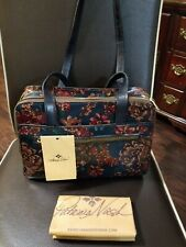 PATRICIA NASH LEATHER DAUPHINE DUAL COMPARTMENT SHOULDER BAG Fall Tapestry