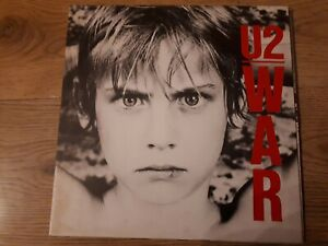 """U2,""""War"""",1983 Portugese Pressing."""