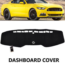 For Ford Mustang GT 15-18 Dashmat Dash Mat Dashboard Cover Sun Shade Protector