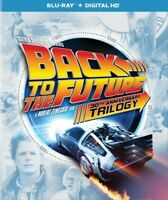 Back to the Future Trilogy Parts 1 / 2 / 3 (DigiBook, Anniversary) BLU-RAY NEW