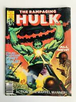 Vintage THE RAMPAGING HULK Comic JAN #1 STAN LEE 1977