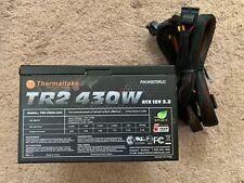 THERMALTAKE TR2-430W TR2-430NL2NC 430W PN: W0070RUC ATX 12V 2.3 Power Supply