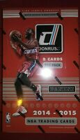 2014-15 PANINI Donruss NBA Basketball (24) Pack Hobby Box Chase Embiid Lavine RC