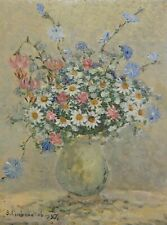 Original Flowers Oil Painting by Ukrainian Artist Slovokhotov, Floral Still Life