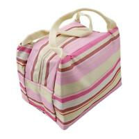 Portable Ladies Girls Thermal Box Insulated Cooler Lunch Carry Tote Storage Bag