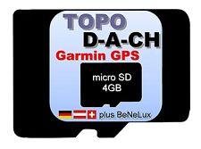 Garmin DACH BeNeLux Topo Deutschland Österreich Schweiz Karte Navi micro SD