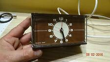 Vintage travel clock - Electric 2000  220v