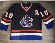 Pavel BURE Vancouver Canucks Jersey #10 CCM Hockey NHL Vtg Pro Player XL