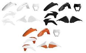 Polisport Restyle plastic kit fits 2014-2016 KTM EXC,EXC-F,XC-W,XCF-W