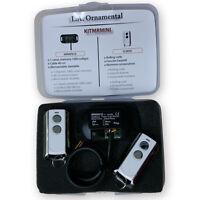 ✔ Garage Door Opener Receiver Kit Remote Control Momentary Switch Transmitter