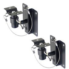 2 Supports Muraux Inclinables pour Enceintes de Poids Maximum 12 Kg