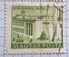 Hungary stamps - School in Sztálinváros   1952 8 ft - FREE P & P