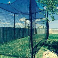 10' X 10' X 60' Batting Cage Net (#36), Rope Edges, New