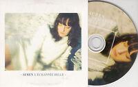 CD CARTONNE CARD SLEEVE COLLECTOR PICTURE AUREN 1T L'ECHAPPEE BELLE DE 2013