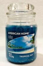 1 Yankee Candle American Home TROPICAL SKY Large 1-Wick Jar Candle 19 oz
