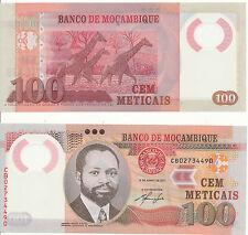Mosambik / MOZAMBIQUE - 100 Meticais 2011 UNC - Pick 151