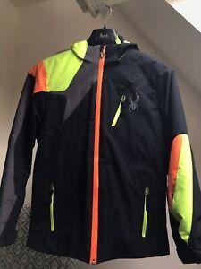 Spyder Challenger Boys' Ski Jacket US Size 16