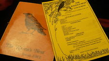 The Ravens Nest lunch & dinner menu Inuvik NWT late 1980's restaurant closed
