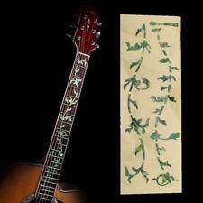 ALBERO DELLA VITA motivo chitarra basso tastiera della chitarra intarsio decalcomania Sticker di colore verde UK