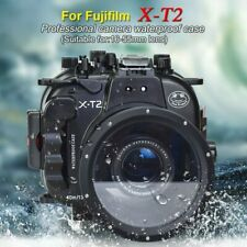 130FT/40M Underwater Case Camera Housing Diving for Fujifilm X-T2 18-55mm lens