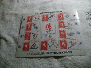 FRANCE(-1992-)-SC.# B639-WINTER OLYMPICS-S.SHEET-MNH