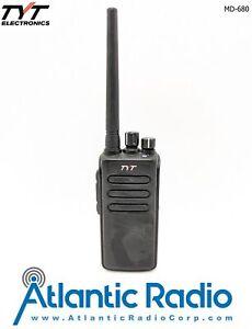 TYT MD-680 - UHF400-470MHz DMR Two-Way Radio - 10W - Ships from U.S.A.