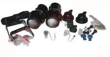 Pair Genuine Hella Micro DE Complete Fog Light Set + Fitting 12V 55W H3 Bulb CAD