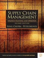Supply Chain Management : Strategy, Planning and Operation by Chopra, Sunil
