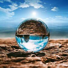 100mm Fotokugel Glaskugel Klar Kristallkugeln Ohne Lufteinschlüsse Fotografie AA